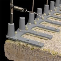 Defender™ Bird Post and Wire Holder - Anti-topple stabilisers