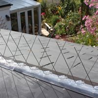 Defender Roof Ridge Bird Spikes stop pigeons and seagulls landing on roofs